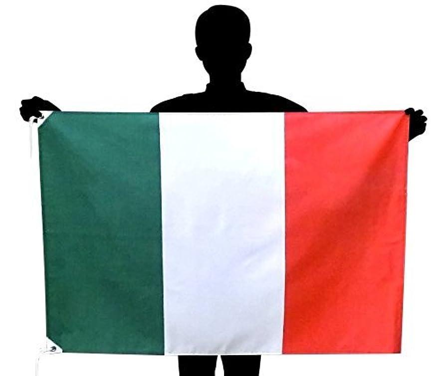一過性協定低下イタリア国旗 NO1 トリコローレ サイズ:70×105cm 高級テトロン製 日本製