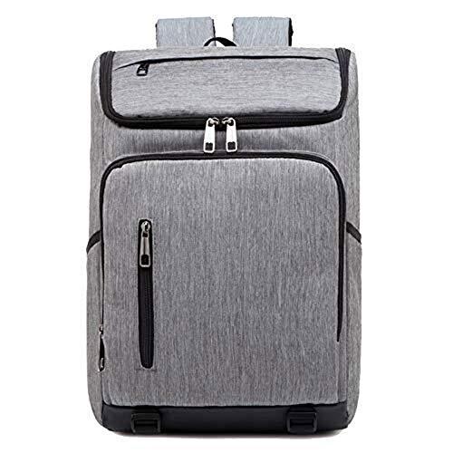 QUIOPOS Multi-función de los viajes de negocios de la nueva manera de Oxford tela impermeable mochila adecuados for las excursiones de senderismo / / escuelas (Color: Gris, Tamaño: 46cm * 28cm * 15cm)