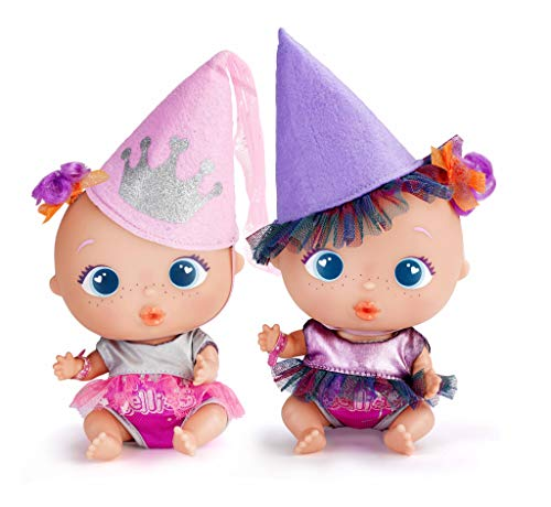 The Bellies - Ropita divertida, disfraz reversible Princesita y Bruja (Famosa 700015205)