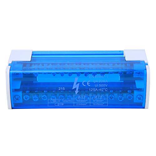 Caja de protección de distribución, caja de conexiones de carril DIN para...