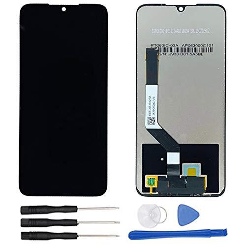 soliocial Assemblé Écran LCD + Vitre Tactile pour Xiaomi Redmi Note 7 M1901F7E / M1901F7C/ M1901F7G/ M1901F7H/ Redmi Note 7 Pro (Snapdragon 660) Global Version Noir no Cadre