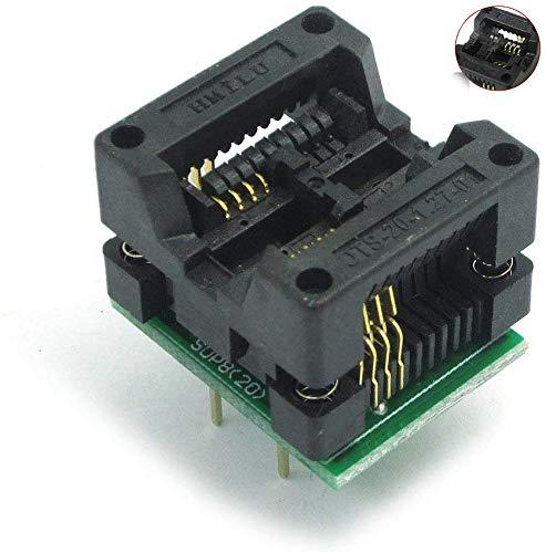 ARCELI 200-208mils SOP8 a DIP8 IC Socket Adaptador Socket OTS-20-1.27-01 para 25xx eeprom Flash