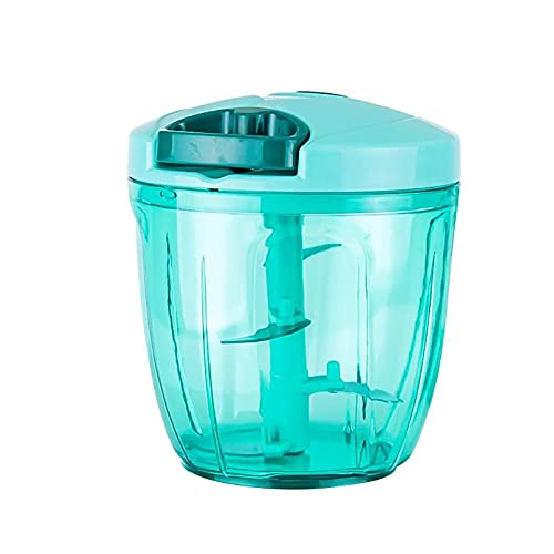 JYSXAD Veggie Chopper dicer, Hand Pull Manual Food Processor Hand Pull Mincer for Vegetable Fruits Nuts Onions Chopper