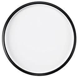 white and black Lazy Susan