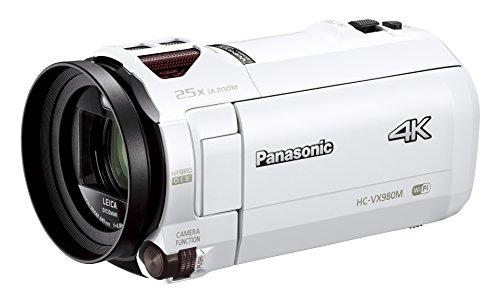 パナソニック デジタル4Kビデオカメラ VX980M 64GB あとから補正 ホワイト HC-VX980M-W