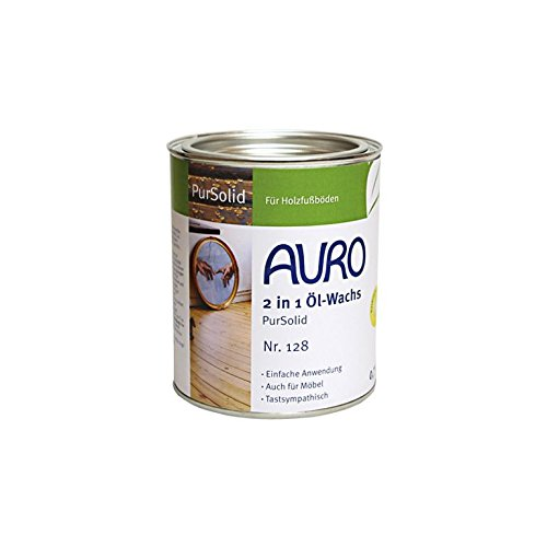 AURO 2 in 1 Öl-Wachs PureSolid 0,75 Liter Nr. 128