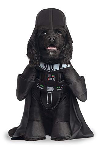 Star Wars - Darth Vader Dlx Kostuum voor huisdier (Rubie's Spanje) Modern design Medium Zwart