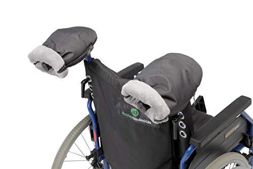 Manoplas para silla de ruedas| Guantes de protección contra el frío y la lluvia de silla de ruedas |Manoplas impermeables de invierno para pasear con la silla de ruedas