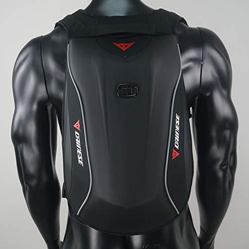 Cavaliere Helmet Bag, in fibra carbonio impermeabile duro guscio tartaruga Zaino Moto Packsack, Invia pioggia copertura sacchetto guida di grande capienza appassionato di moto Zaino Attrezzatura,05