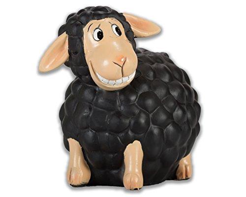 Topshop24you wunderschöne Spardose,Sparschwein,Sparbüchse Modell schwarzes Schaf