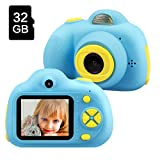 Gifts for 4 5 6 7 8 Year Old Boy, TekHome Kids Digital Camera for Boys, New Gift Ideas for Christmas Birthday, Top Toys 2020 for Boys Age 4-10, Blue.