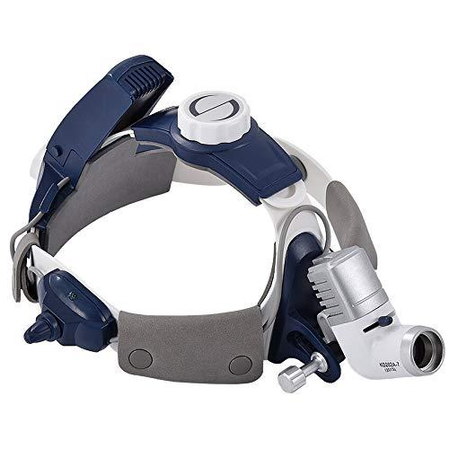 Luz de cabeza profesional para faros quirúrgicos LED dentales, luz brillante, altura ajustable