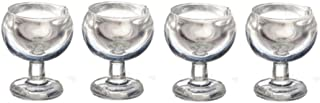 Melody Jane Dolls Houses House Miniature 1:24 Scale Dining Room Accessory 4 Wine Glasses