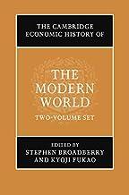 The Cambridge Economic History of the Modern World 2 Volume Hardback Set