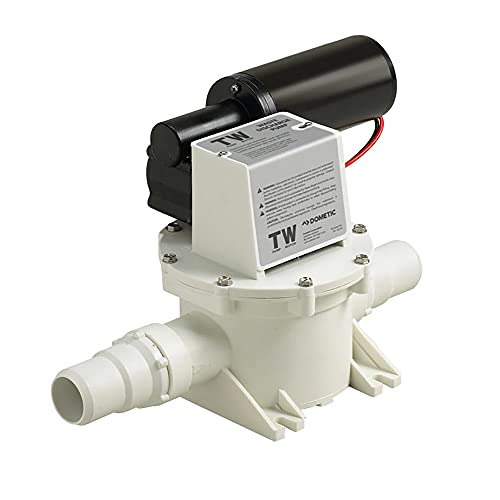 SeaLand T-Series Sanipump Discharge and Macerator Pump with Whisper Quiet Motor T12 12V