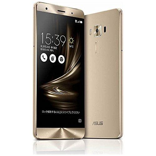 ASUS SIMフリースマートフォン ZenFone 3 Deluxe ゴールド ZS570KL-GD256S6