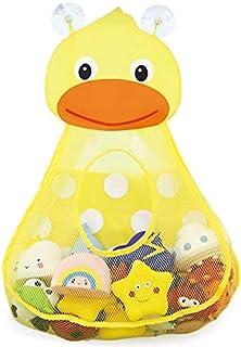 RETTI Panier de rangement pour jouets de bain - Pour enfant - Séchage rapide - Avec 2 ventouses puissantes