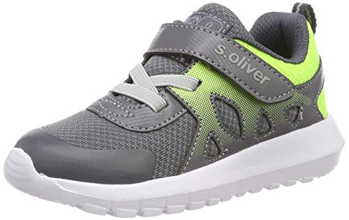 s.Oliver Jungen 5-5-33200-22 200 Sneaker Grau (Grey 200), 30 EU