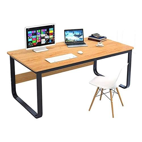 HEMFV Escritorio ergonómico para computadora Computadora de escritorio, Moderno minimalista escritorio de la computadora, económico de escritorio principal de escritorio, Ensamble individual Escritori