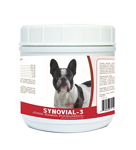 Healthy Breeds French Bulldog Synovial-3 Joint Health Formulation 120 Count
