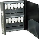 ベッセル Qキーファイル A4サイズ ブラック 12個吊