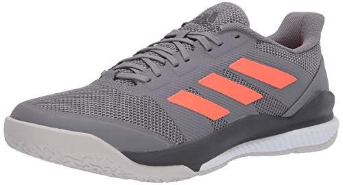 adidas Men's Stabil Bounce Cross Trainer, Grey/Signal Coral/Grey Six, 9.5