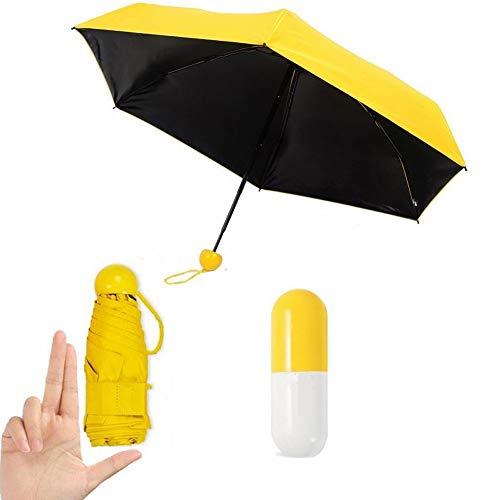 Paraguas amarillo mini