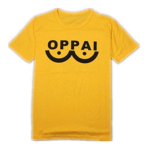One Punch Man Anime Oppai gelb Medium T-Shirt