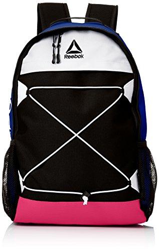 [リーボック] リュック メンズ レディース リュックサック 大容量 カジュアル スポーツ ブランド 21l a4サイズ ロゴ 通学 通勤 旅行バッグ ARB1003 ブルー F