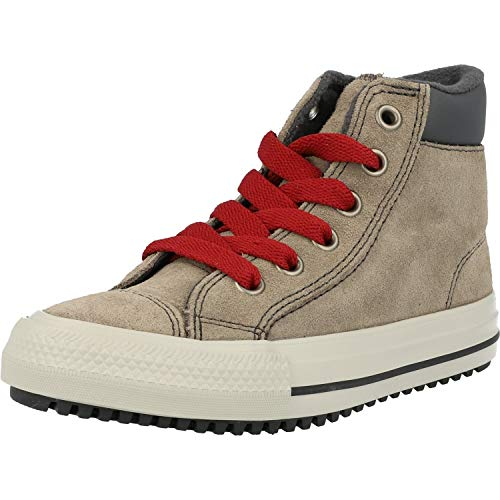 Converse Chuck Taylor All Star PC Boot Boots On Mars Hi Grau (Mason Taupe) Veloursleder 29 EU