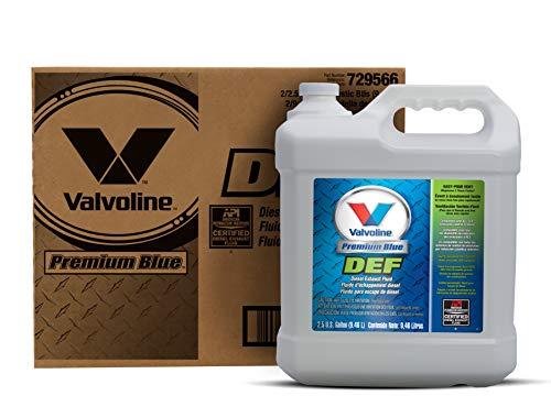 Valvoline 729566-2PK Premium Blue Diesel Exhaust Fluid - 1 Gallon, (Case of 2)
