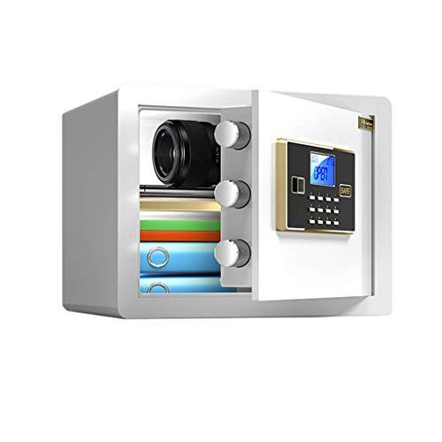 HCYY Caja Fuerte de Seguridad, Caja Fuerte de depósito electrónico con código Digital Mini, hogar/Oficina/Hotel para Dinero, gabinetes con Caja de Seguridad para Joyas en Efectivo (Color: sty
