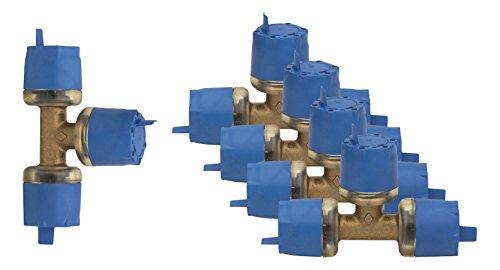 WIROFLEX® Stecksystem   T-Stück   5er-Pack   Stecksystem   Fitting 16 x 16 x 16 mm