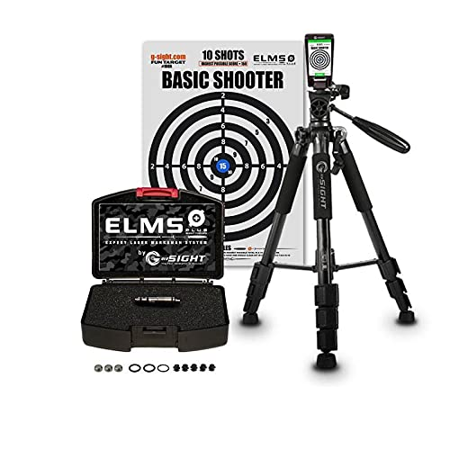ELMS PLUS PROPACK Dry Fire Cartridge Laser Training System | Free iPhone/Android App | Best in Class Accuracy & Compatibility | 100% Guarantee | In Guns & Ammo, Recoil, Firearms News Magazines (9mm)