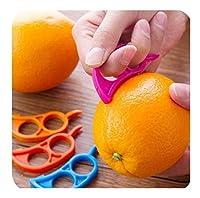 プロスイベルピーラーセット 1PCクリエイティブ野菜フルーツ剥離機カッターセラミックポテトにんじんスライサーおろし器滑走コックキッチンアクセサリーガジェット じゃがいも、野菜、りんごの皮むき器 (Color : E color random)