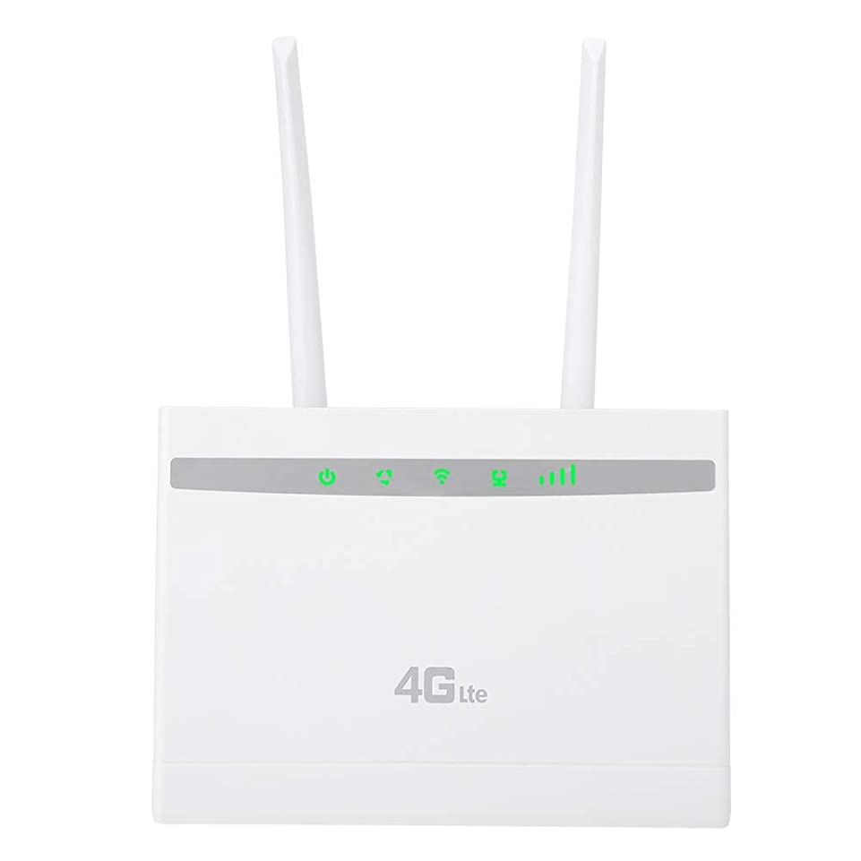 説明コーナー浅い300Mbps高速データ伝送4G CPE WiFiルーター、IPV4 / IPV6大規模WiFiカバレッジワイヤレスルーターはIPアドレスのフィルタリングをサポート(米国)