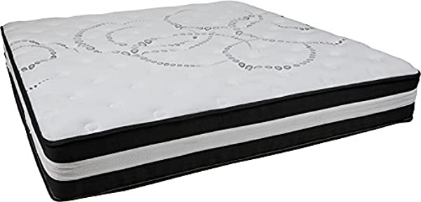 Emma Oliver 12 Inch Memory Foam And Foam And Pocket Spring Mattress Select The Size And Style That Fits Your Bedroom Decor Best King High Density Foam