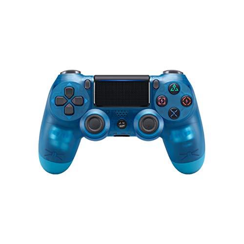 AEKE Mando inalámbrico para Playstation 4 – Joystick para PS4 Crystal Blue