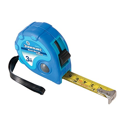 Silverline 633818 - Flexómetro Measure Mate (3 m x 16 mm)