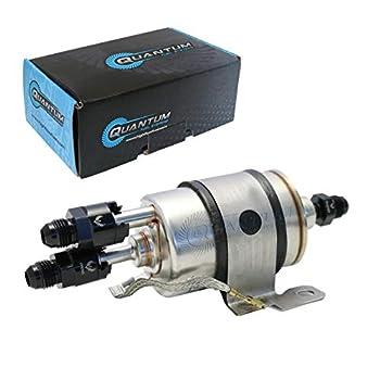 QFS-F201-AN8 Quantum LS Swap C5 Corvette Fuel Pressure Regulator/Filter+8ANFittings for Chevrolet Corvette 5.7L  1999-2004  Replaces Wix 33737
