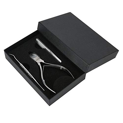 Materiales de alta calidad de larga duración Cortaúñas duradero, Cortaúñas fácil de limpiar, para salón de belleza en casa(Manicure set)