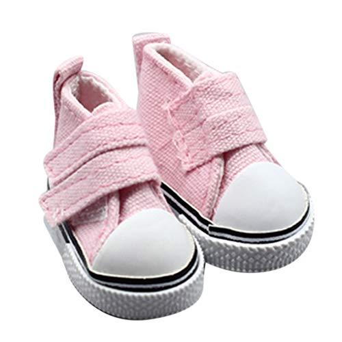 Morza 1 Zapatos de Lona muñeca Par 5 cm seakers muñeca de...