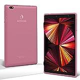 Tablet 8 Pulgadas Android 10 IPS Ultrar-Rápido Tablets HD 1280 * 800 Quad Core 3GB RAM 32GB/128GB ROM WiFi 5000mAh Bluetooth 4.2-Certificación Google GMS (Rosa)