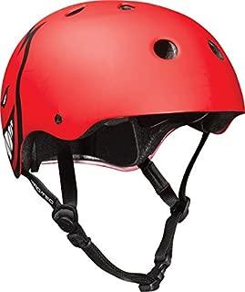 Pro-Tec (Cpsc)Classic Spitfire XL-Red Matte Skateboard Helmet