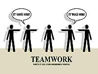 チームワーク、レトロレプリカヴィンテージスタイルのメタルギフト