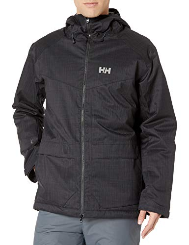 Helly-Hansen Men's Nelson Insulated Ski Jacket, Black, Medium