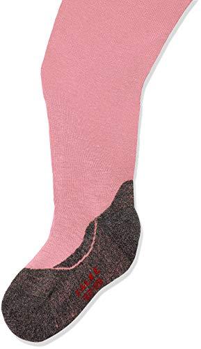 FALKE Kinder Strumpfhosen Active Warm, Wollmischung, 1 Stück, Rosa (Flamingo 8527), Größe: 110-116