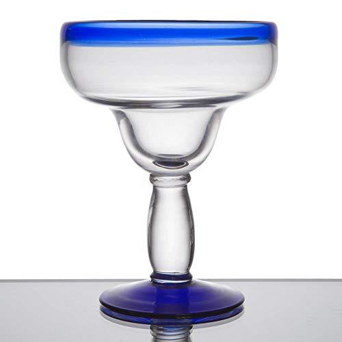 Margarita-Glas mit blauem Rand, 473 ml, libbey 92315, spülmaschinenfest, 12 Stück