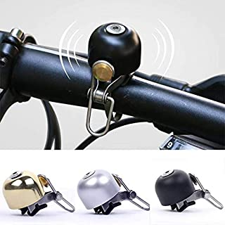 Angzhili Vintage Bicycle Bell Ring Bike Horn Classic Retro Brass Bell Handlebar Bells