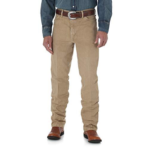Wrangler Men's Silver Edition Slim Fit Jean, tan, 33X32